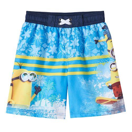 c6dee5be3c Boys 4-7 Despicable Me Minion Swim Trunks