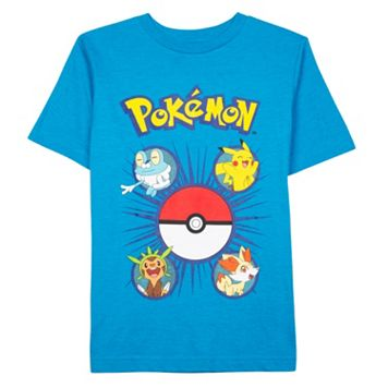 Boys 4-7 Pokémon Pikachu Faces Tee