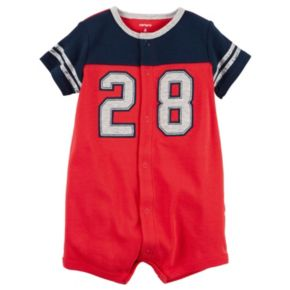 "Baby Boy Carter's Colorblock ""28"" Graphic Bodysuit"