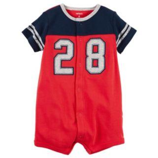 "Baby Boy Carter's Colorblock ""28"" Graphic Bodysuit"