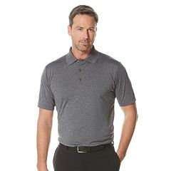 Men's Grand Slam Heathered Golf Polo