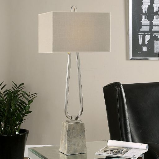 Carugo Geometric Table Lamp
