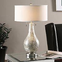 Saracena Round Mercury Glass Table Lamp