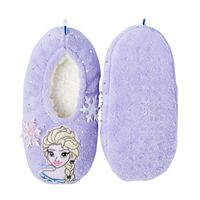 Disney's Frozen Elsa Girls 4-16 Slippers