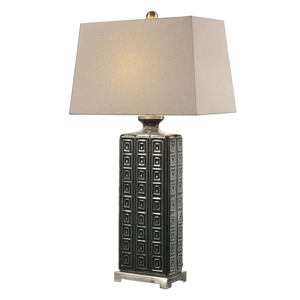 Casale Geometric Ceramic Table Lamp