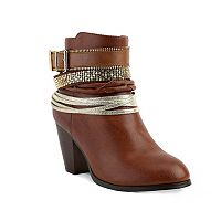 Olivia Miller Concourse Women's Ankle Boots