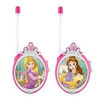 Disney Princess Rapunzel & Belle Walkie Talkies by Kid Designs