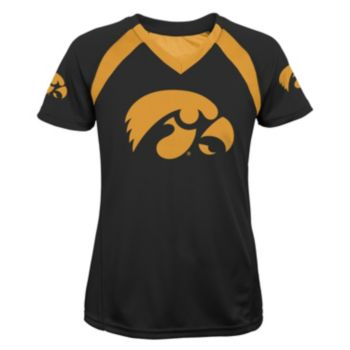 Girls 7-16 Iowa Hawkeyes Fashion Tee
