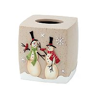 Avanti Tall Snowman Tissue Cover