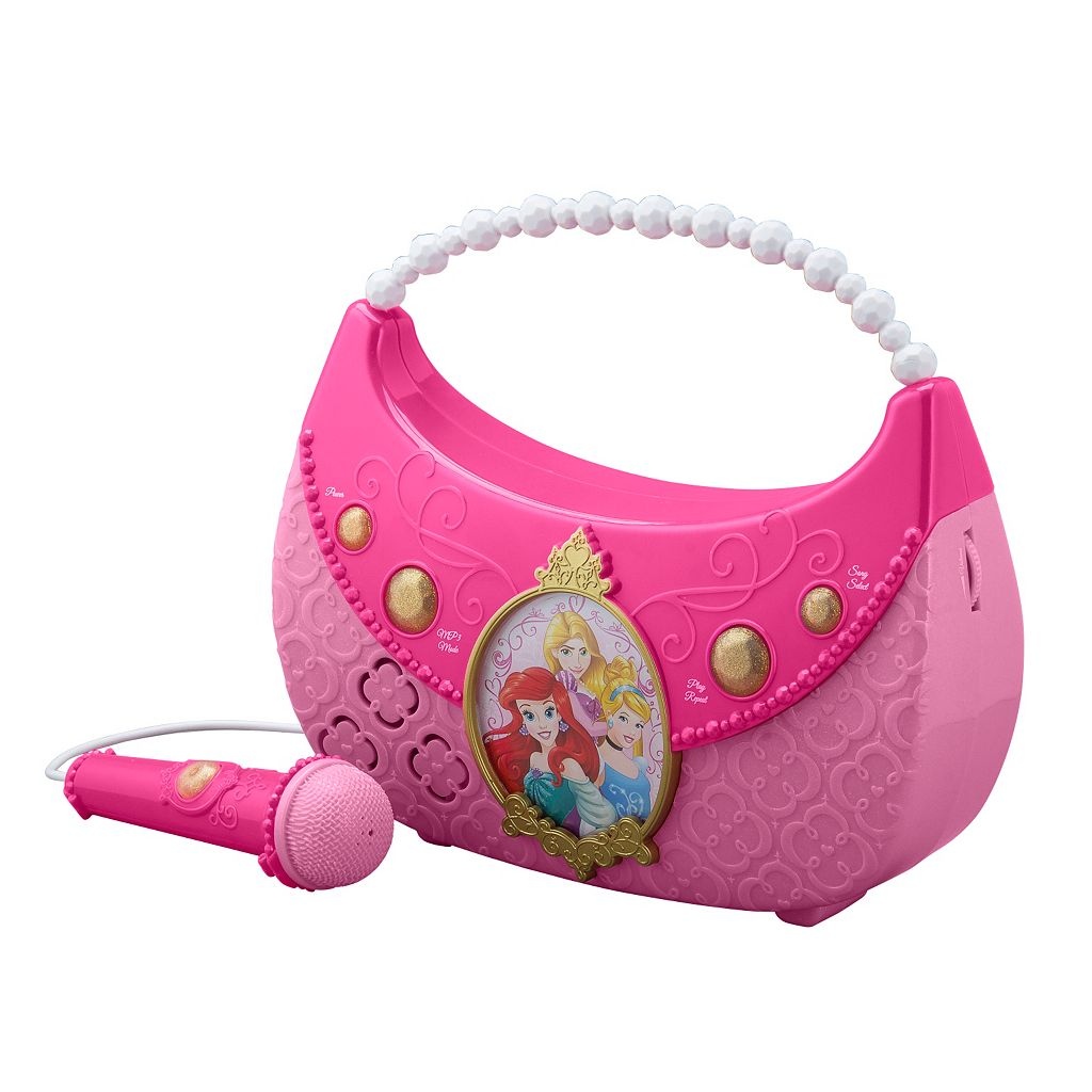 Disney Princess Sing Along Boombox by Kid Designs