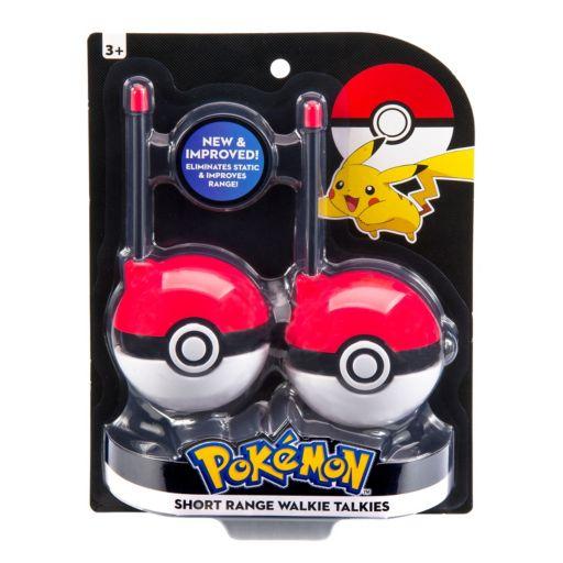 Pokemon Short-Range Walkie Talkies by Kid Designs