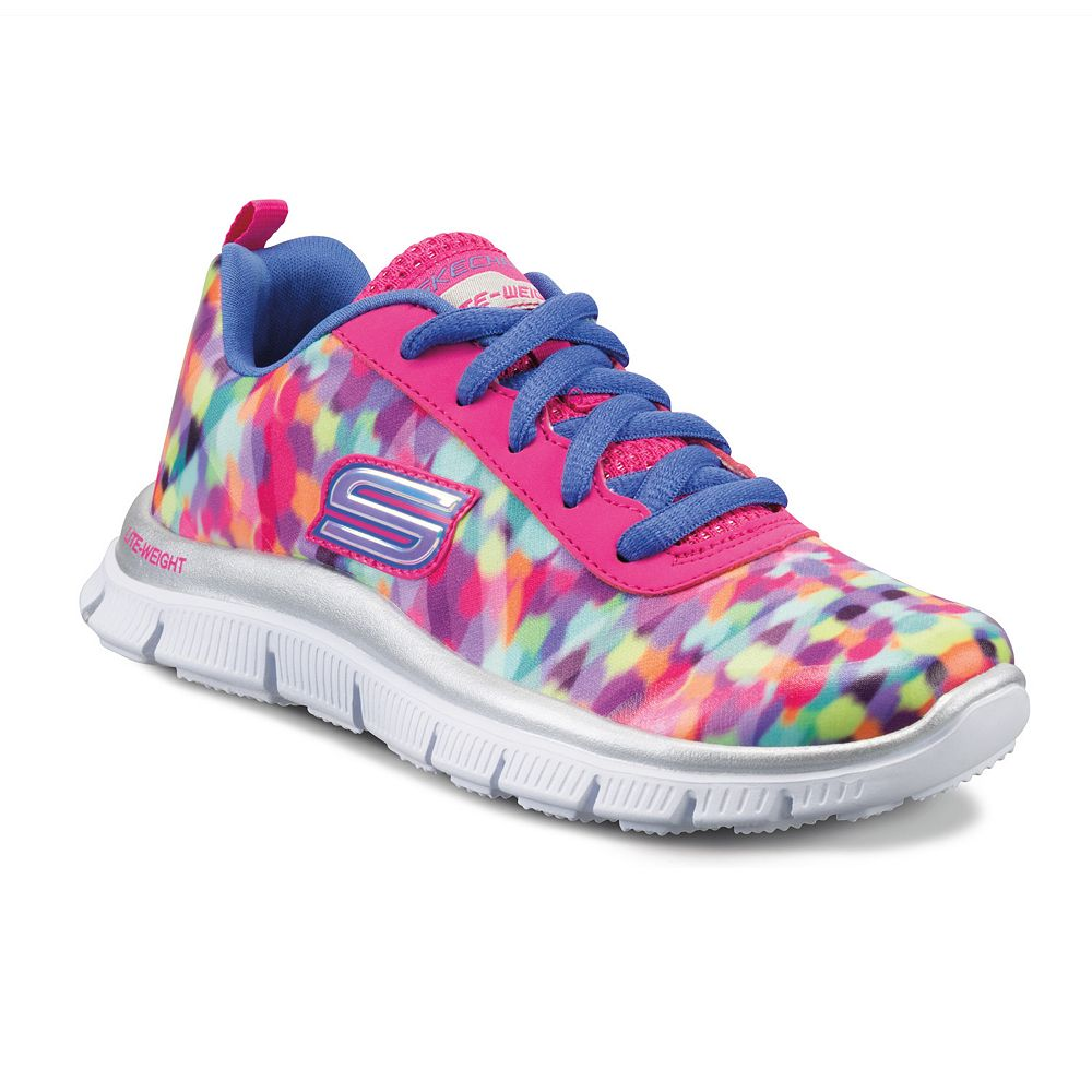 a940c59f638f Skechers Skech Appeal Rainbow Grade School Girls  Shoes