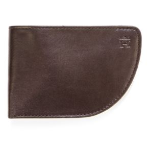 Men's Haggar Leather Curved Front-Pocket Wallet