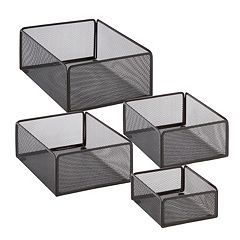 Honey-Can-Do 4-pack eXcessory Basket Set