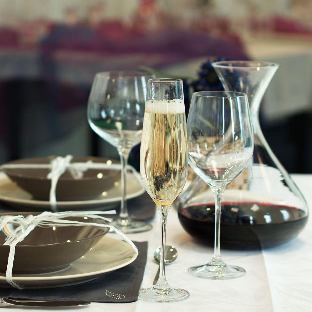 Krosno Nina 6-pc. White Wine Glass Set