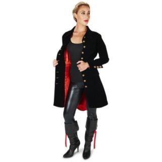 Adult Velvet Pirate Jacket Costume