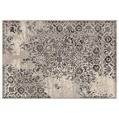 Loloi Emory Framed Floral Rug