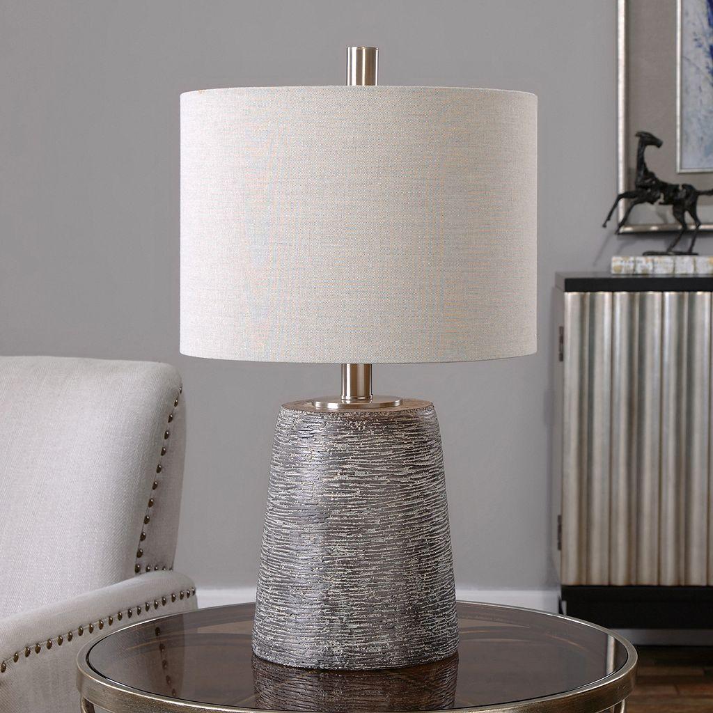 Duron Textured Ceramic Table Lamp