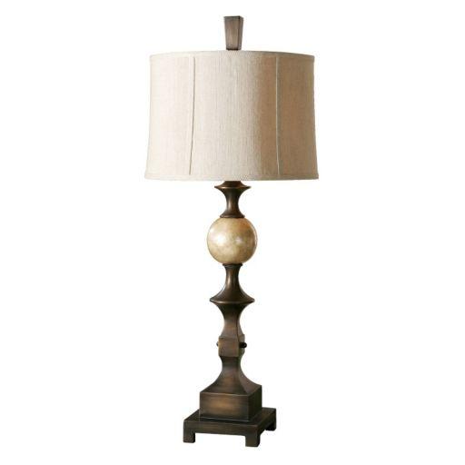 Tusciano Bronze Finish Table Lamp