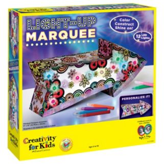 Creativity For Kids Light-Up Marquee