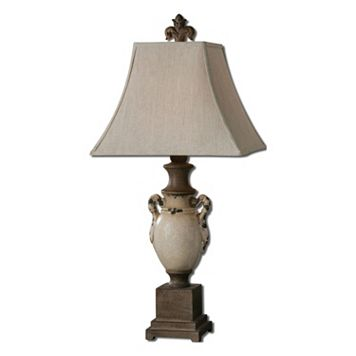 Francavilla Crackled Ceramic Table Lamp