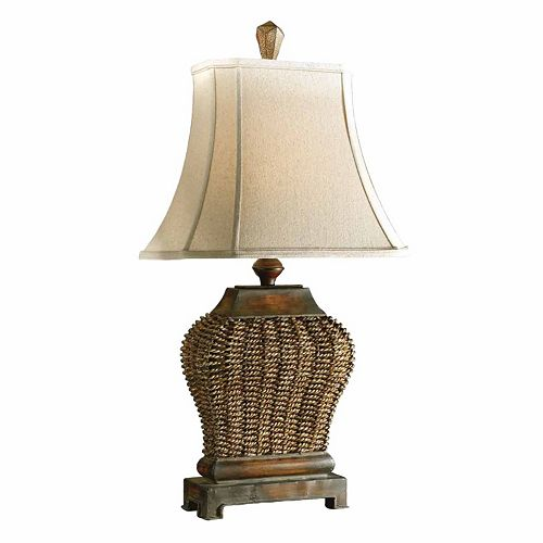 Augustine Textured Table Lamp