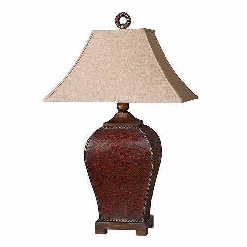 Patala Crackled Table Lamp
