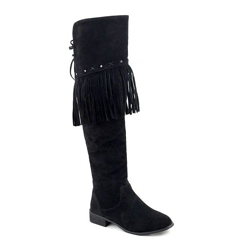 Olivia Miller Woodhaven Women's Over-The-Knee Boots