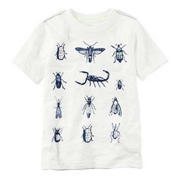 Toddler Boy Carter's Short Sleeve Bugs Graphic Tee