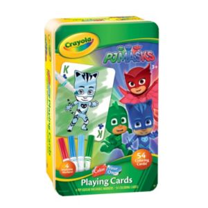 PJ Masks Owlette, Catboy & Gekko Color Your Own Player Cards Set by Crayola
