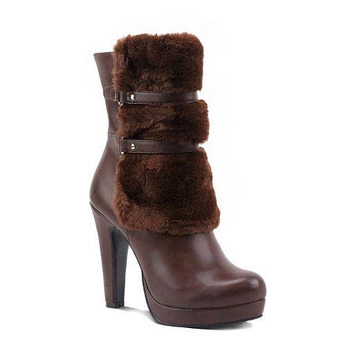 Olivia Miller Nevins Women's High Heel Ankle Boots