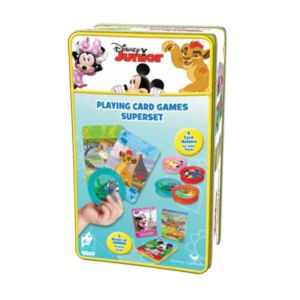 Disney's The Lion Guard, Mickey Mouse and Minnie Mouse Super 3 Card Game