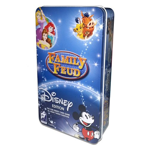 Family Feud Disney Edition Game by Cardinal