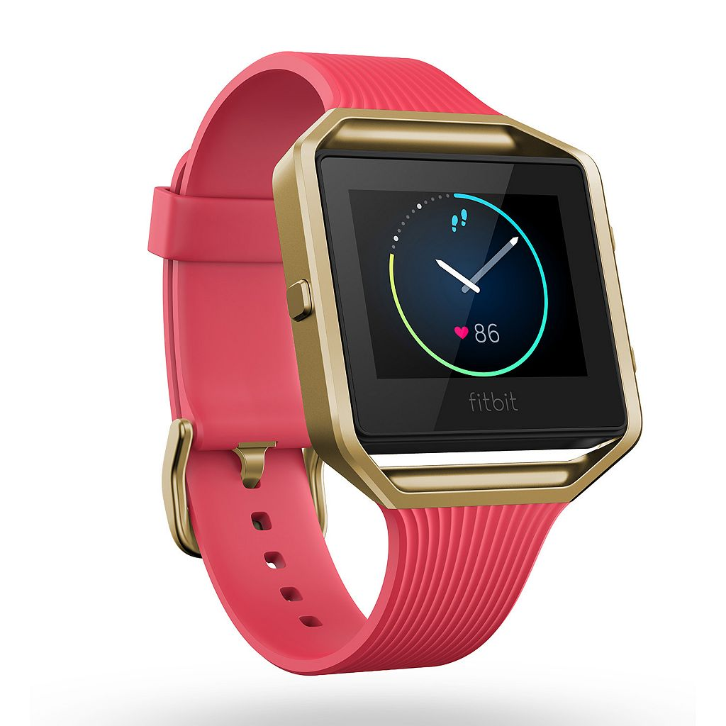 Fitbit Blaze Smart Fitness Watch (Special Edition Pink & Gold Tone)