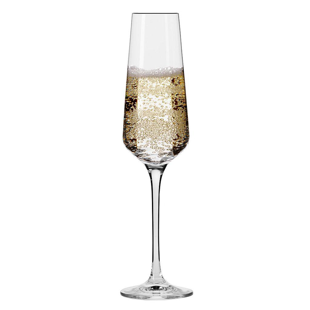 Krosno Vera 6-pc. Champagne Flute Set