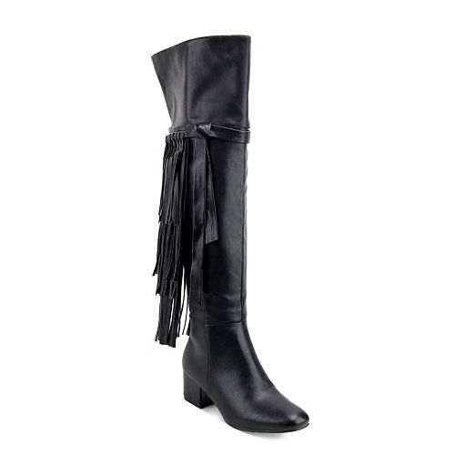 Olivia Miller Jackson Women's Over-The-Knee Boots