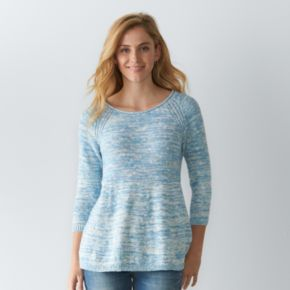 Women's SONOMA Goods for Life™ Marled Crewneck Sweater