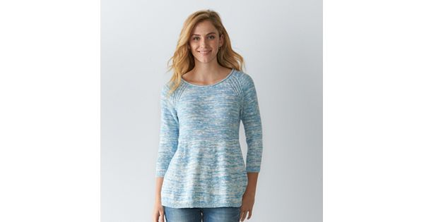 Women S Sonoma Goods For Life Marled Crewneck Sweater