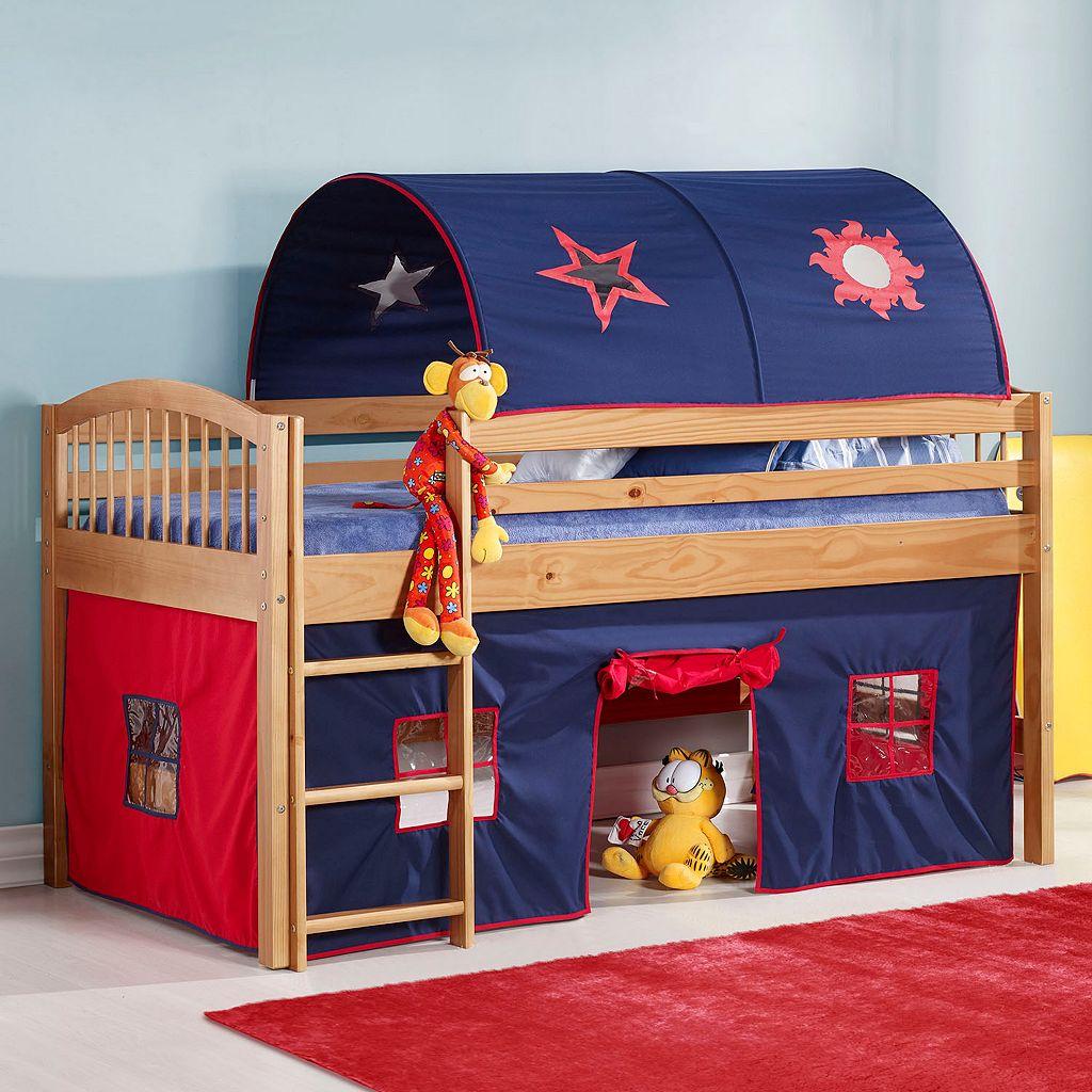 Bolton Addison Junior Blue Playhouse Loft Bed