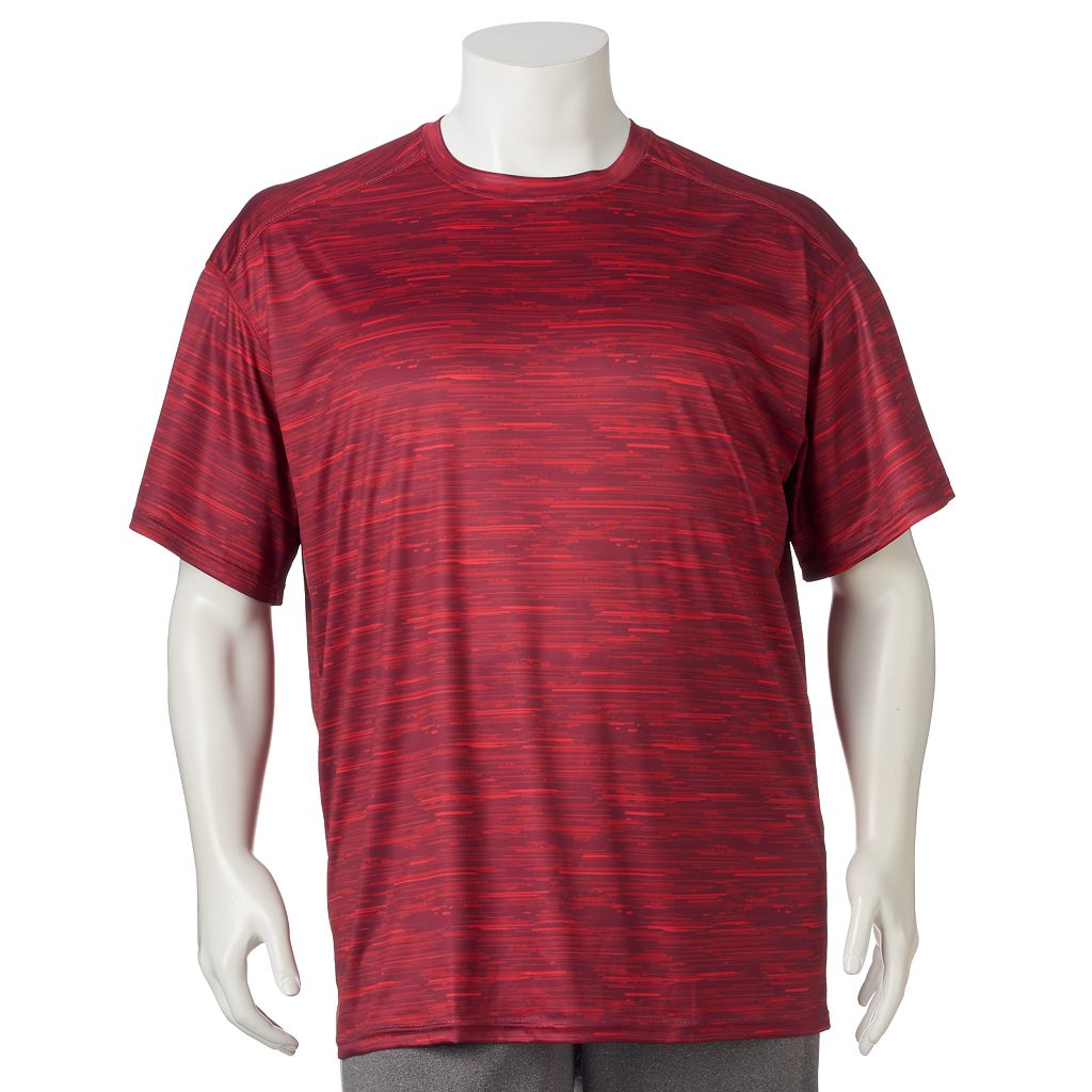 Big & Tall Russell Sublimated Dri-Power Performance Tee