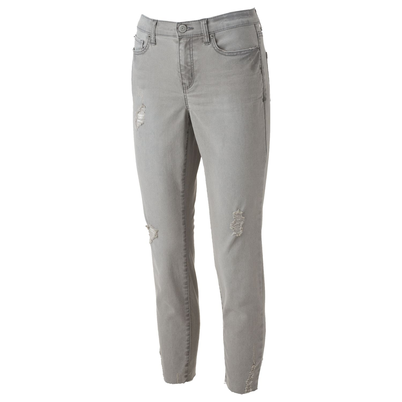 Black ripped jeans kohls