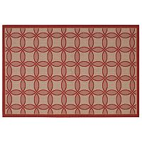 Couristan Five Seasons Retro Clover Trellis Indoor Outdoor Rug