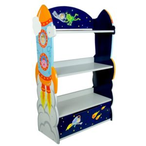 Fantasy Fields Outer Space Hand Crafted Bookshelf