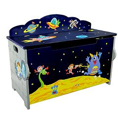Fantasy Fields Outer Space Hand Crafted Toy Chest by