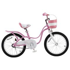 Girls Royalbaby Little Swan 18-Inch Bike with Basket