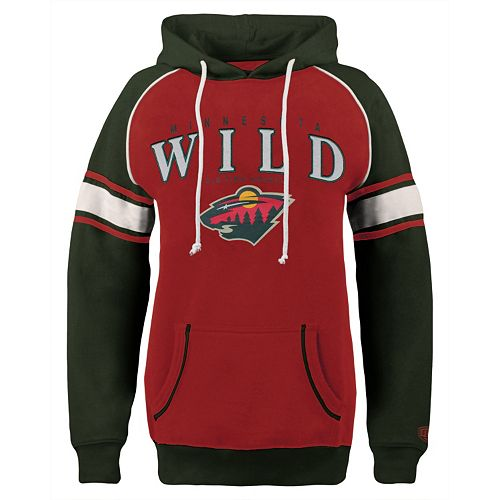 super popular 5d22f 6562b Women's Old Time Hockey Minnesota Wild Breen Pullover ...