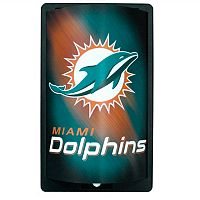 Miami Dolphins MotiGlow Light-Up Sign