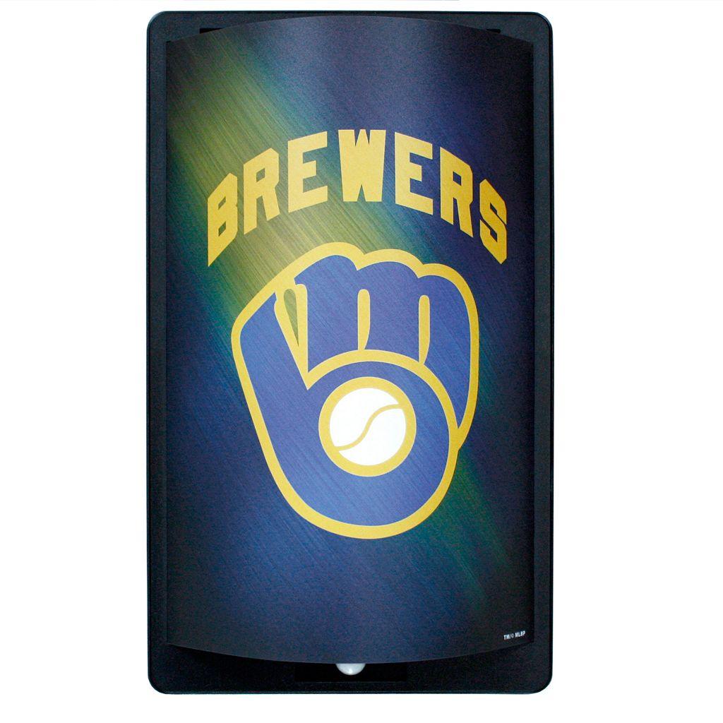 Milwaukee Brewers MotiGlow Light-Up Sign