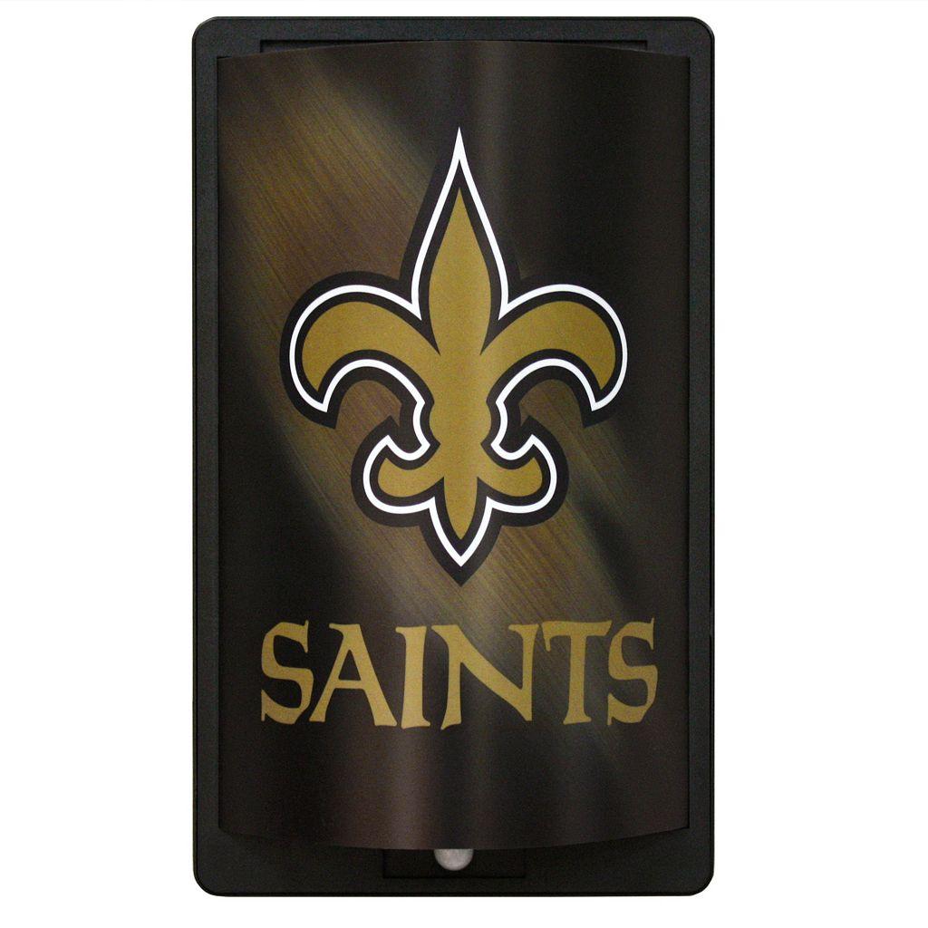 New Orleans Saints MotiGlow Light-Up Sign