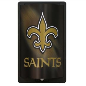 New Orleans Saints MotiGlow Light-Up Sign